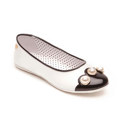 Moschino Two-Tone Pump BALLET PUMP