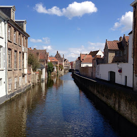 Brugge by Vince Apps - Novices Only Landscapes ( water, houses, brugge, canal )