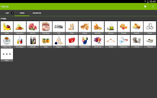 Screenshot of myShopi