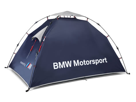 BMW MotorSport Tent