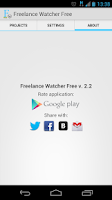 Screenshot of Freelance Job Watcher Free