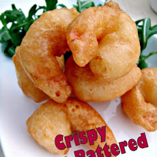 Crispy Beer Battered Prawns