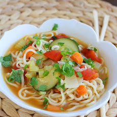 Ramen Vegetable Soup