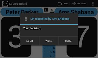 Screenshot of Squash Score Board Squore