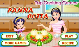 Screenshot of Panna Cotta
