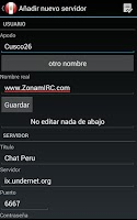 Screenshot of Chat Arequipa