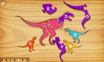 Screenshot of First Kids Puzzles: Dinosaurs