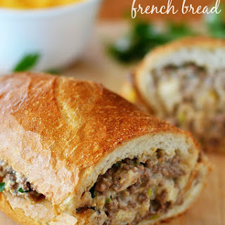 Ground Beef Stuffed French Bread Recipes