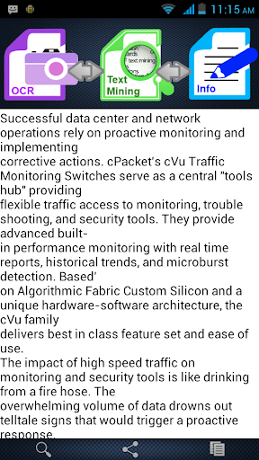 Smart OCR:Text Miner Pro - screenshot