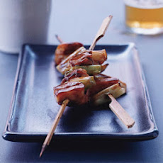 Chicken and Scallion Skewers