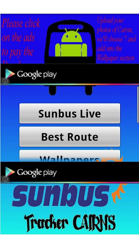 sunbus-tracker-cairns for android screenshot