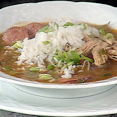 Smoked Turkey and Collard Green Gumbo