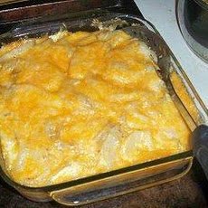 Cheese & Potato Bake (A.k.a. Scalloped Potatoes)