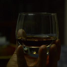 Hold The Drink by Nimit Rastogi - Food & Drink Alcohol & Drinks ( bacardi, hold, drink, glass, black )