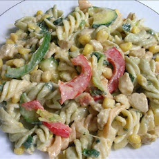 Mexican Chicken Pasta Salad