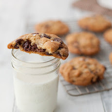 Chocolate Chip Cookies with Nutella, Brown Butter and Sea Salt