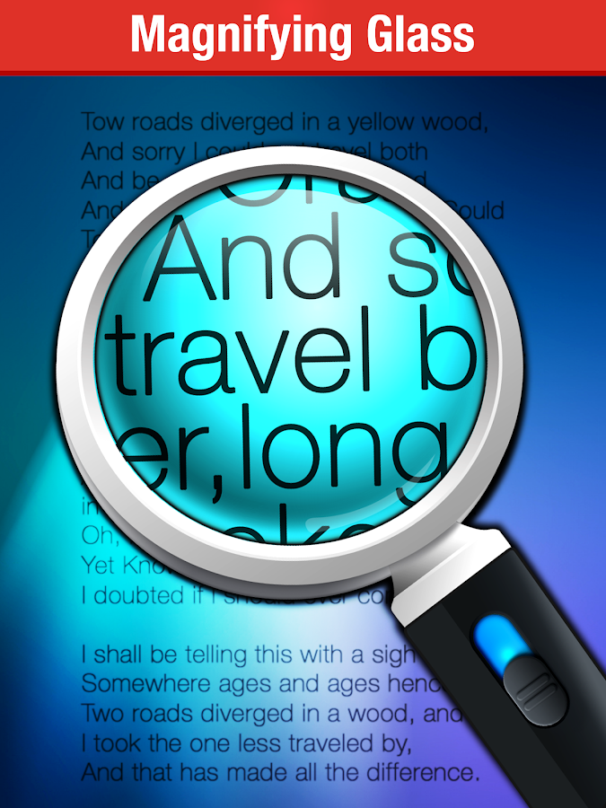 Magnifying Glass + Flashlight Screenshot 4
