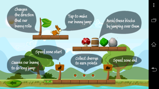 Bunny Run Game - screenshot