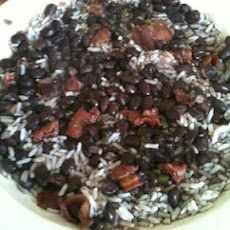 Mom's Black Beans & Rice