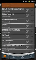 Screenshot of Tamil Radio