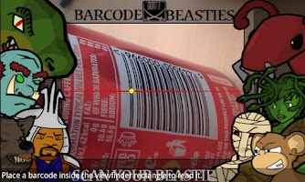 Screenshot of Barcode Beasties