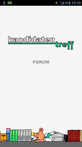 Kandidatentreff - Forum