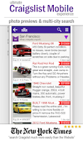 Screenshot of cPro Craigslist Free Client