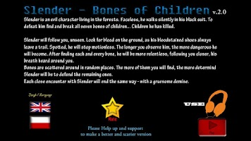 Screenshot of Slender - Bones of Children