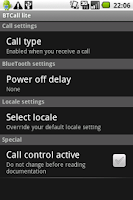Screenshot of BTCall Lite - Bluetooth auto