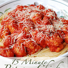 Popcorn Chicken Parmesan – 15 Minute Meal