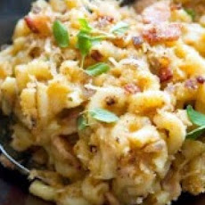 Macaroni and Cheese Carbonara