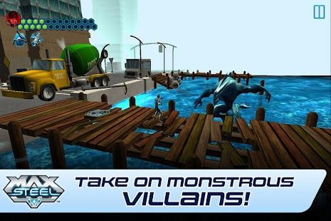 Game Max Steel apk for kindle fire