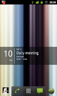 Simple Calendar Widget Screenshot