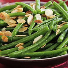 Green Beans With Golden Almond Butter