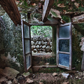 Destruction by Xavier Barceló Pinya - Buildings & Architecture Decaying & Abandoned ( window, destruction, collapsed ceiling, derelict, mallorca )