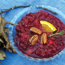 Cranberry and Candied Orange Chutney
