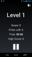 Screenshot of LockPick (Game for the blind)