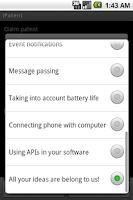 Screenshot of iPatent