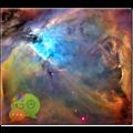 App Orion Nebula GO SMS Pro Theme APK for Windows Phone