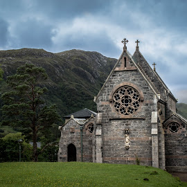 The Kirk by Nicole Williams - Novices Only Landscapes ( church scotland landscape )
