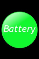 Screenshot of BatteryWidget