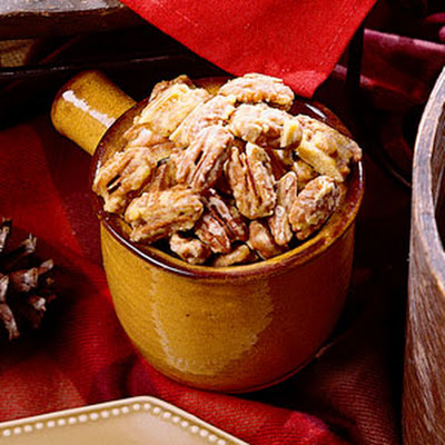 Orange-Glazed Pecans