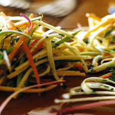 Zucchini Slaw Two Ways