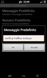Invia SMS - screenshot