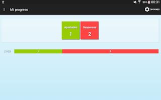 Screenshot of Tests Autoescuela DGT