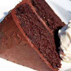 Crazy Dark Chocolate Cake