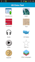 Screenshot of US Civics (Citizen) Test