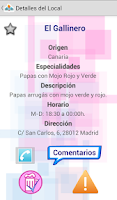 Screenshot of Cañas & Tapas Madrid