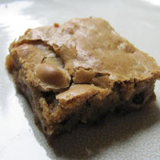 Toffee Pecan Blondies
