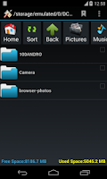 Screenshot of SD Card Manager(File Manager)